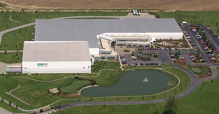UniFirst distribution center in Owensboro, Kentucky