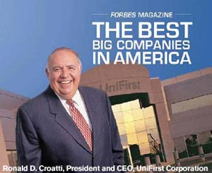 Forbes names UniFirst to Best Big Companies in America