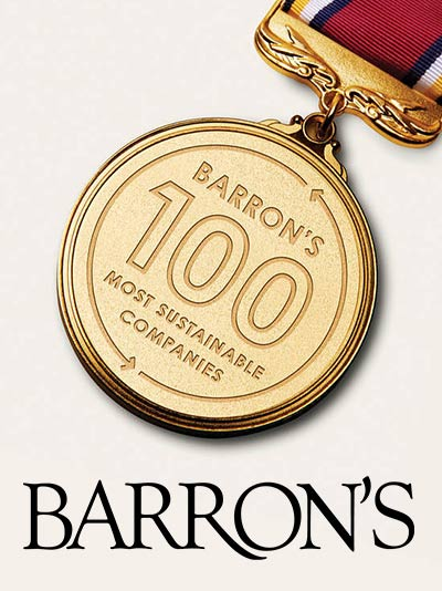 Barrons Magazine Most Sustainable Companies in the U.S.