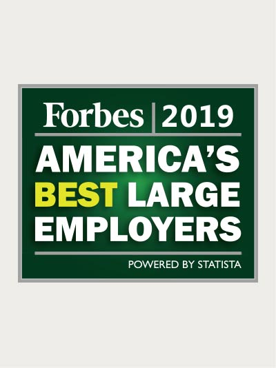 Forbes Magazine - America's Best Large Employers