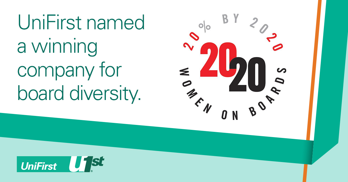 Unifirst Honored For Second Consecutive Year By 2020 Women