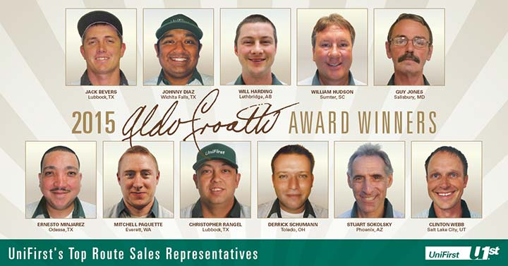 Aldo Croatti 2015 Award Winners