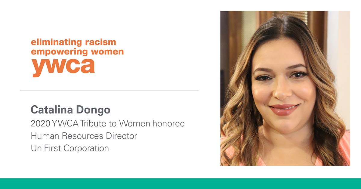 UniFirst Human Resources Director Catalina Dongo Honored by YWCA