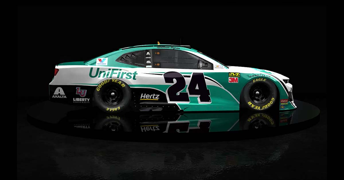 Unifirst Unveils No 24 Chevrolet Camaro Zl1 Race Car For