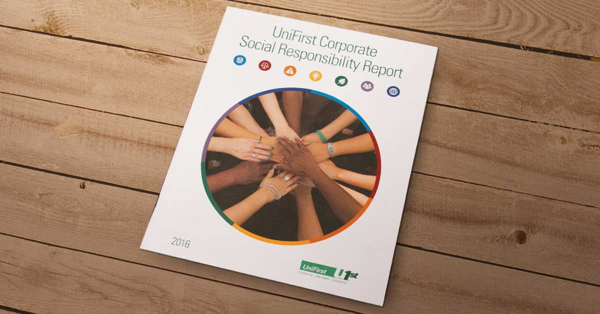 Unifirst Corporation Releases 2016 Corporate Social