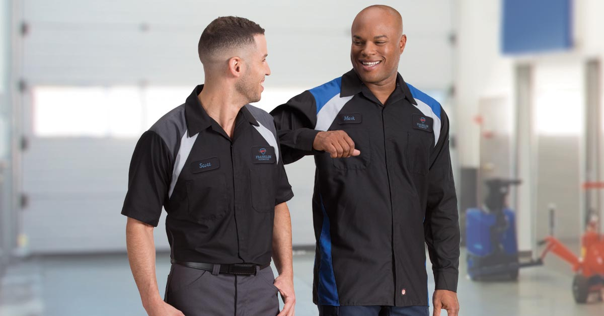 Professional automotive uniforms by UniFirst