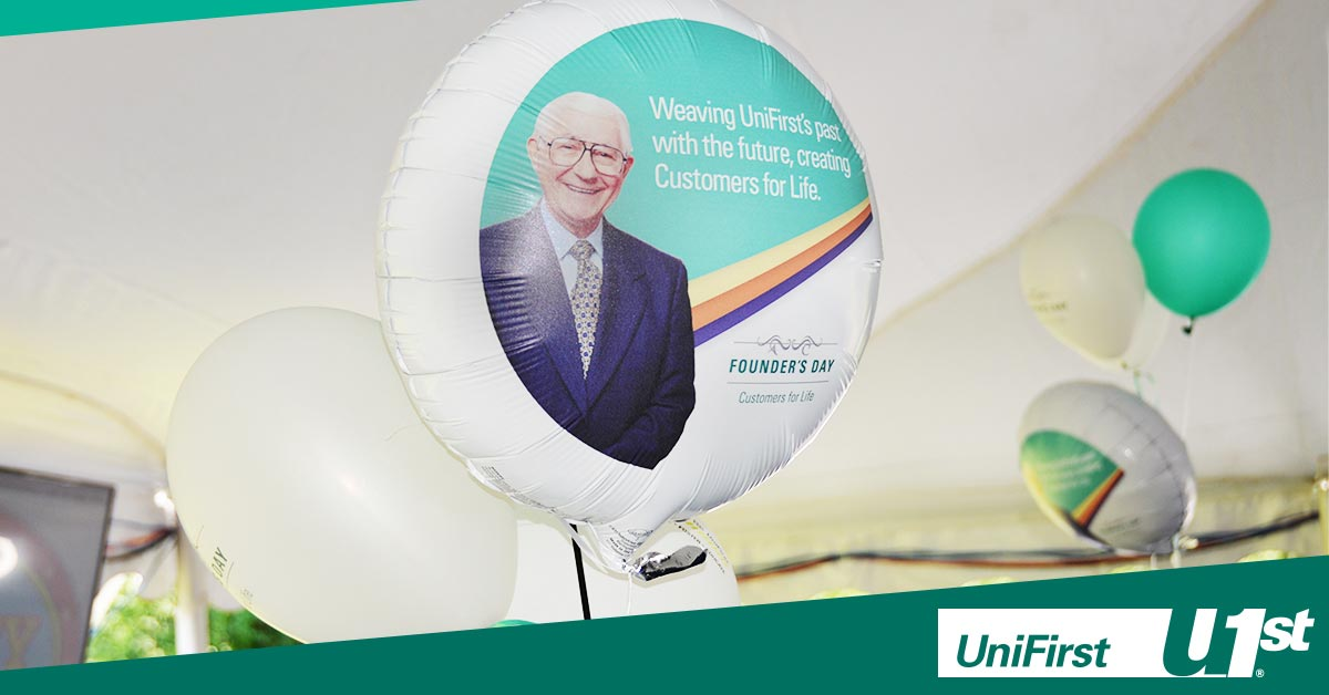 UniFirst celebrates Aldo Croatti and Founder's Day