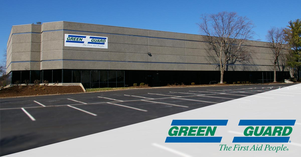 Green Guard First Aid & Safety Corporate Headquarters in St. Louis, MO