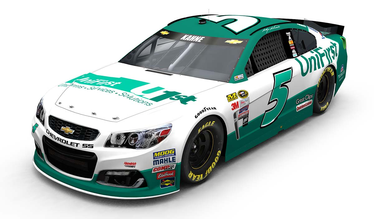 UniFirst and Hendrick Motorsports Strike EightYear Sponsorship – Race Car Sponsorship Contract