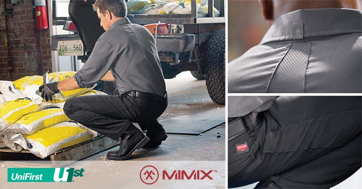 Custom Floor Mats >> UniFirst Debuts Revolutionary MIMIX™ Line of Workwear in ...