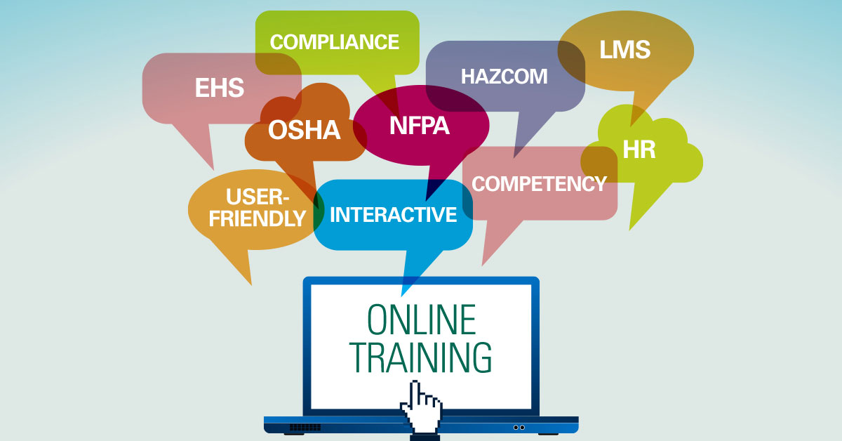 Online Safety Training covers OSHA, NFPA, HAZCOM, compliance, EHS, HR, LMS and more.