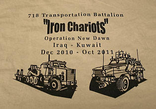Iron Chariots from Operation New Dawn in Kuwait and Iraq