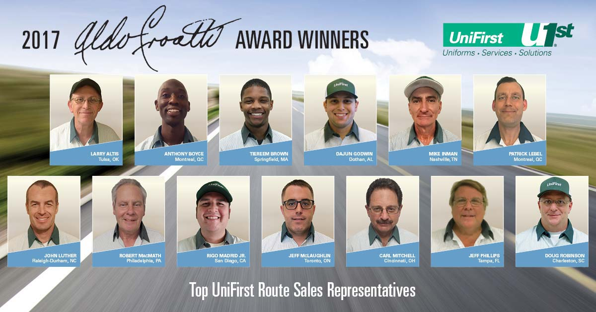 driving superior customer service unifirst names 2017
