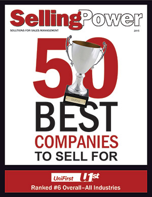 UniFirst named 6th best company to sell for