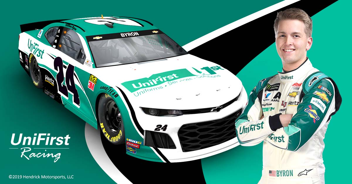 UniFirst Racing with William Byron and his Chevy Camaro ZL1