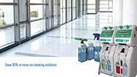 Cleaning Solution Dispensing Service