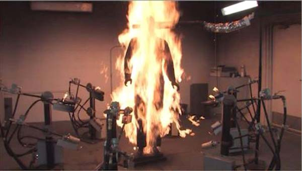 Video: Flash Fire Testing of Flame Resistant Workwear