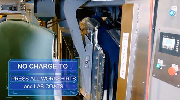 Video: Free shirt and lab coat pressing at UniFirst