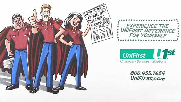 Video Gain A Competitive Edge With Unifirst Uniforms