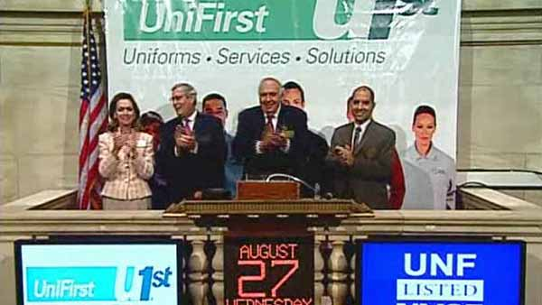 Video: UniFirst CEO Rings Bell at New York Stock Exchange