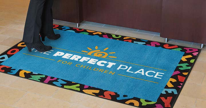 Customized Floor Mat With Your Logo Or Message UniFirst Custom ...