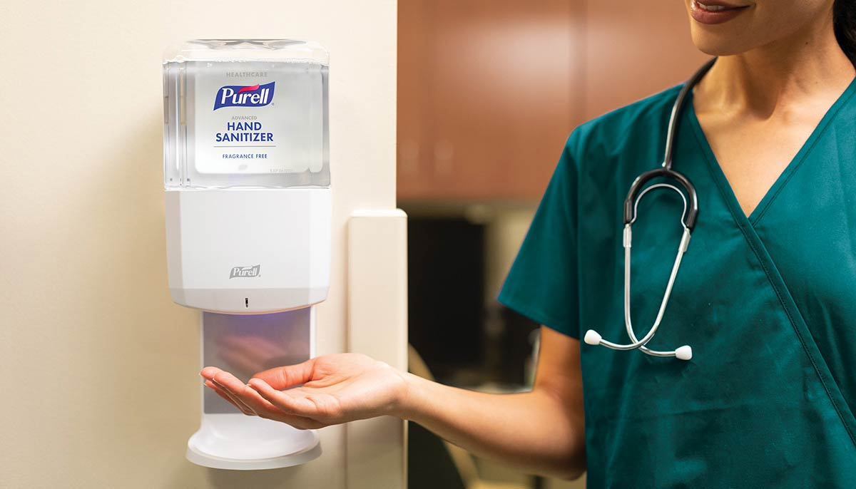 Purell Hand Sanitizers And Dispensers