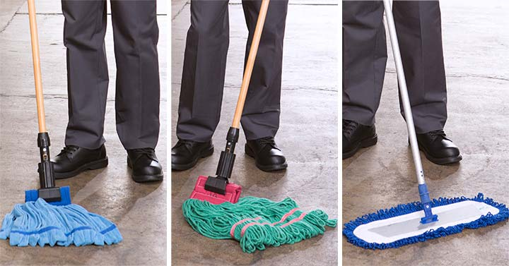 Floor Mop Rental Services Commercial And Industrial Mops