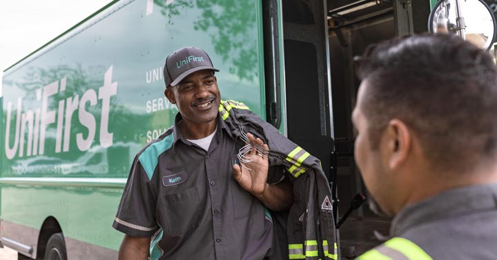 Uniform Pickup And Delivery